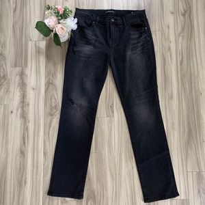NWT BCBG Distressed Boyfriend jeans size 28